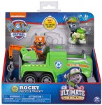 PAT PATROUILLE ULTIMATE ROCKY AVEC SA DEPANNEUSE - FIGURINE CHIEN - PAW PATROL - SPIN MASTER - 20101537