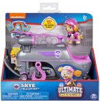 PAT PATROUILLE ULTIMATE STELLA AVEC SON HELICOPTERE - FIGURINE CHIEN - PAW PATROL - SPIN MASTER - 20101536
