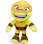 PELUCHE TORTUES NINJA ORANGE : MICHELANGELO GEANT 60 CM - GRANDE PELUCHE LICENCE TURTLES