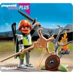 PLAYMOBIL CHEVALIERS 5293 SPECIAL PLUS GUERRIER CELTE AVEC ARMES