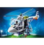 PLAYMOBIL CITY ACTION 6921 HELICOPTERE DE POLICE AVEC PROJECTEUR DE RECHERCHE