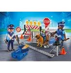 PLAYMOBIL CITY ACTION 6924 BARRAGE DE POLICE
