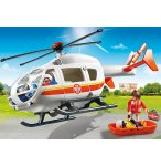 PLAYMOBIL CITY HOPITAL 6686 HELICOPTERE MEDICAL