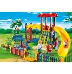 PLAYMOBIL CITY LIFE 5568 SQUARE POUR ENFANTS AVEC JEUX