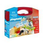 PLAYMOBIL CITY LIFE 5653 VALISETTE VETERINAIRE ET ANIMAUX