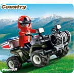 PLAYMOBIL COUNTRY 5429 QUAD DE SECOURS EN MONTAGNE