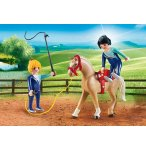 PLAYMOBIL COUNTRY 6933 VOLTIGEUSES ET CHEVAL