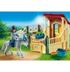 PLAYMOBIL COUNTRY 6935 BOX AVEC CAVALIERE ET CHEVAL APPALOOSA