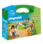 PLAYMOBIL COUNTRY 9100 VALISETTE PALEFRENIERES