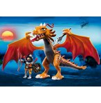 PLAYMOBIL DRAGONS 5483 DRAGON D'OR AVEC SOLDAT