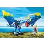 PLAYMOBIL DRAGONS 9247 ASTRID ET TEMPETE