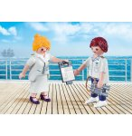 PLAYMOBIL FAMILY FUN 9216 DUO PACK HOTE ET HOTESSE DE CROISIERE