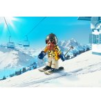 PLAYMOBIL FAMILY FUN 9284 SKIEUR AVEC SNOWBLADES
