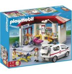 PLAYMOBIL HOPITAL 5012 EXCLUSIVITE CLINIQUE ET AMBULANCE