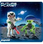 PLAYMOBIL PLANETE FUTURE 5241 DUO PACK AGENT SPATIAL ET ROBOT