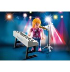 PLAYMOBIL SPECIAL PLUS 9095 CHANTEUSE AVEC SYNTHE