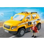 PLAYMOBIL VIE DE CHANTIER 5470 CHEF DE CHANTIER ET VEHICULE D'INTERVENTION