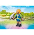 PLAYMOBIL ZOO 6830 ENTRAINEUSE AVEC CACATOES
