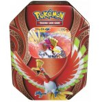 POKEBOX HO-OH GX - CARTE A COLLECTIONNER POKEMON - BOITE METAL ROUGE