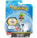 POKEMON MARISSON AVEC HONOR BALL - POKEBALL - FIGURINE - TOMY - T18875