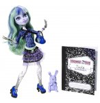 POUPEE MONSTER HIGH 13 SOUHAITS - TWYLA ET SON ANIMAL - MATTEL - BBJ95