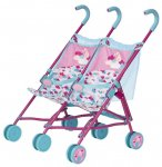 POUSSETTE CANNE DOUBLE TWIN STROLLER POUPONS BABY BORN - ZAPF CREATION