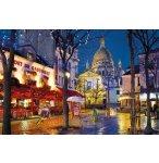 PUZZLE AVENUE DE MONTMATTRE / PARIS 1500 PIECES - CLEMENTONI - 31999