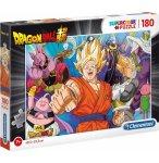 PUZZLE DRAGON BALL Z : SAN GOKU - GINUE - BOO - PICCOLO 180 PIECES - CLEMENTONI - 29755