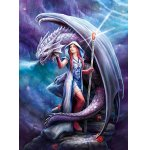 PUZZLE DRAGON MAGE 1000 PIECES - ANNE STOKES - COLLECTION LOUP - CLEMENTONI - 39525
