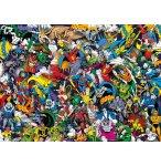 PUZZLE IMPOSSIBLE DC / JUSTICE LEAGUE 1000 PIECES - COLLECTION SUPER HEROES - CLEMENTONI - 39599