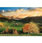 PUZZLE PAYSAGE DE SAINT MAGDALENA 3000 PIECES - COLLECTION ITALIE - CLEMENTONI 33545
