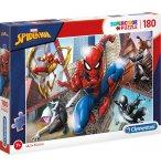 PUZZLE SPIDERMAN - 180 PIECES - COLLECTION SPIDER-MAN MARVEL - CLEMENTONI - 29302