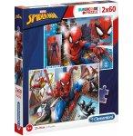 PUZZLE SPIDERMAN - 2 X 60 PIECES - PUZZLE MARVEL SUPER HEROS - CLEMENTONI - 21608