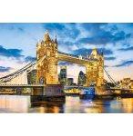 PUZZLE TOWER BRIDGE AU CREPUSCULE 2000 PIECES - COLLECTION PAYSAGE ANGLETERRE - CLEMENTONI - 32563