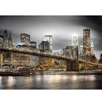 PUZZLE VUE SUR LA VILLE DE NEW-YORK LA NUIT 1000 PIECES - COLLECTION MONUMENT ETAT-UNIS - CLEMENTONI - 39366