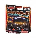 VEHICULE CARS LEWIS HAMILTON NEON RACERS - VOITURE MINIATURE - MATTEL - CBG16