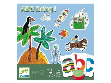 ABC DRING - JEU DE LANGAGE - DJECO - DJ08484
