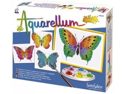 AQUARELLUM JUNIOR PAPILLONS - SENTOSPHERE - 661 - LOISIRS CREATIFS