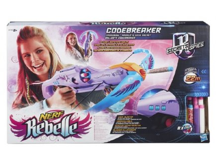 ARBALETE CODE SECRET NERF REBELLE - HASBRO - B1703 - JEU PLEIN AIR