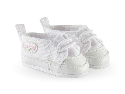 BASKETS BLANCHES POUPON 36 CM - COROLLE - FCW21 - CHAUSSURES (527)
