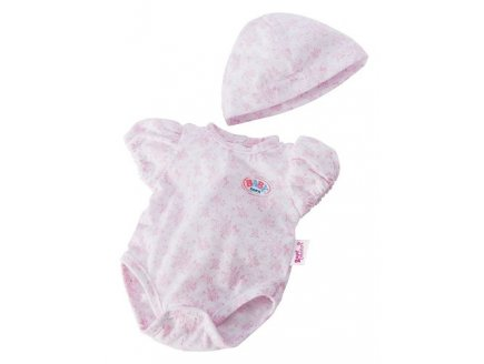 BODY FLEURI ROSE + BONNET POUPON 43 CM BABY BORN - ZAPF CREATION (03)