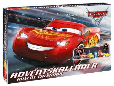 CALENDRIER DE L'AVENT CARS 3 - DISNEY PIXAR - FIGURINES & ACCESSOIRES
