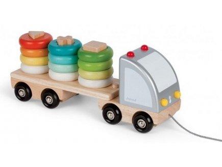 Au 2 En Bois Meilleur Camion Janod 1 Multi Color Prix QeorCxdBW