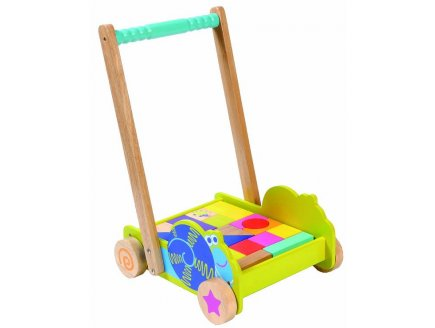 CHARIOT MAXI CUBES - BOIKIDO - 8500 - JOUET ECO FRIENDLY