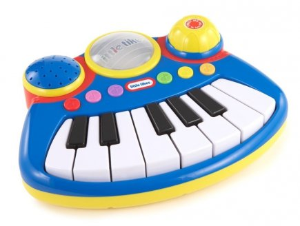 CLAVIER MUSICAL ELECTRONIQUE BLEU BIG ROCKERS - POPTUNES - LITTLE TIKES - 610172PE5C