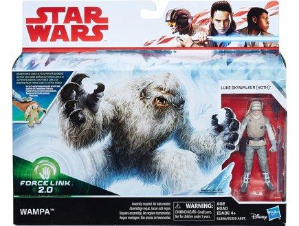 COFFRET STAR WARS WAMPA + LUKE SKYWALKER - FORCE LINK 2.0 - FIGURINE - HASBRO - E1689