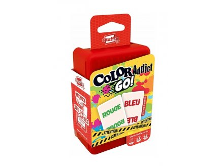 COLOR ADDICT GO! - JEU DE CARTES SHUFFLE - FRANCE CARTES - 410403