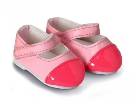 COROLLE - Y5463A - CHAUSSURES VERNIES ROSES 36 CM - MADEMOISELLE COROLLE (520)