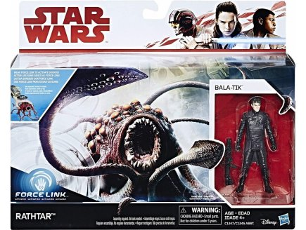 CREATURE STAR WARS RATHTAR + BALA-TIK - FORCE LINK 2.0 - FIGURINE - VEHICULE - VAISSEAU - HASBRO - E1262