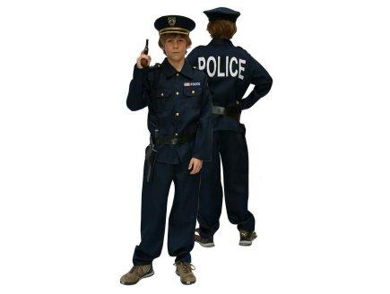 DEGUISEMENT POLICIER 4 ANS GARCON - UNIFORME METIER